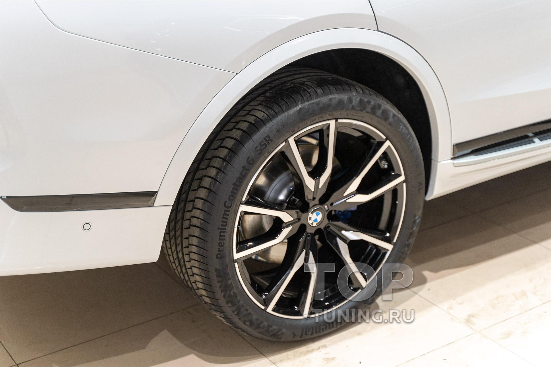 105689 BMW X7 - Пленка, керамика кузова и салона
