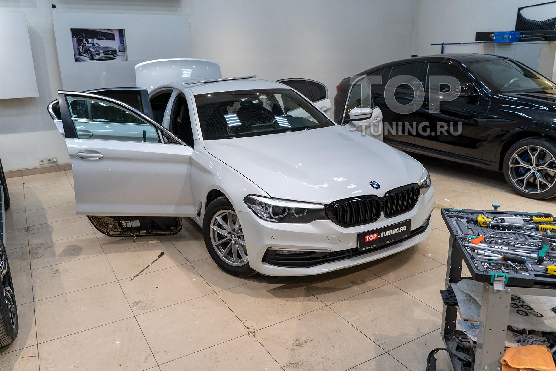 105703 Доводчики в BMW 5 G30 – Обзор