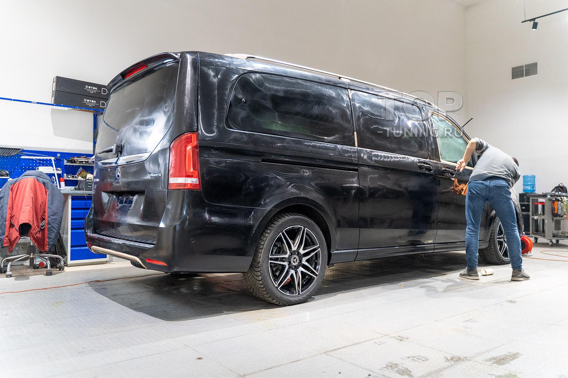 Детейлинг для Mercedes-Benz V-class W447 2020