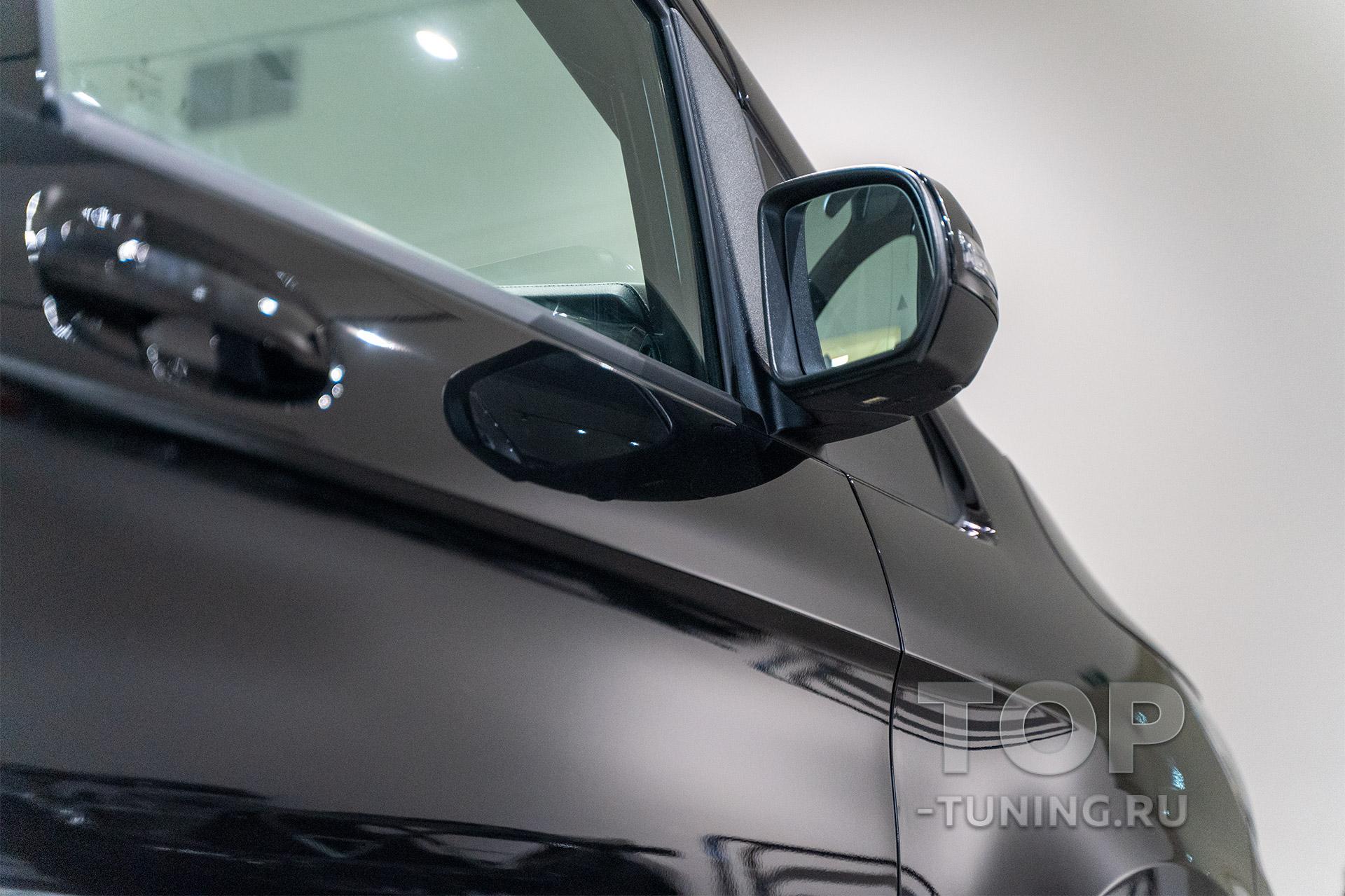 Mercedes-Benz V-class W447 - защита от камней и царапин, детейлинг кузова и салона