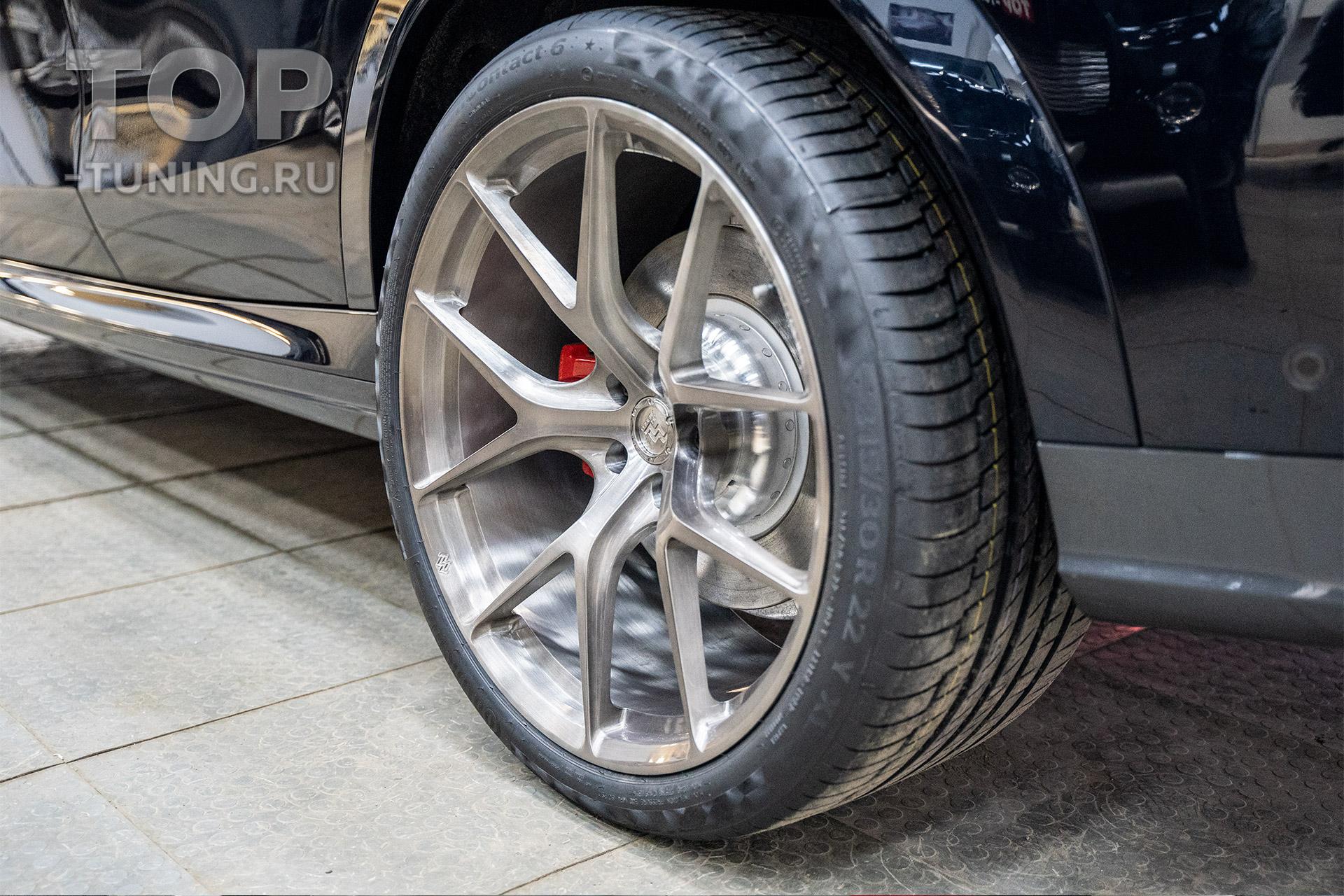 Диски R22 Forged для BMW X6 G06 (кованные, разноширокие)