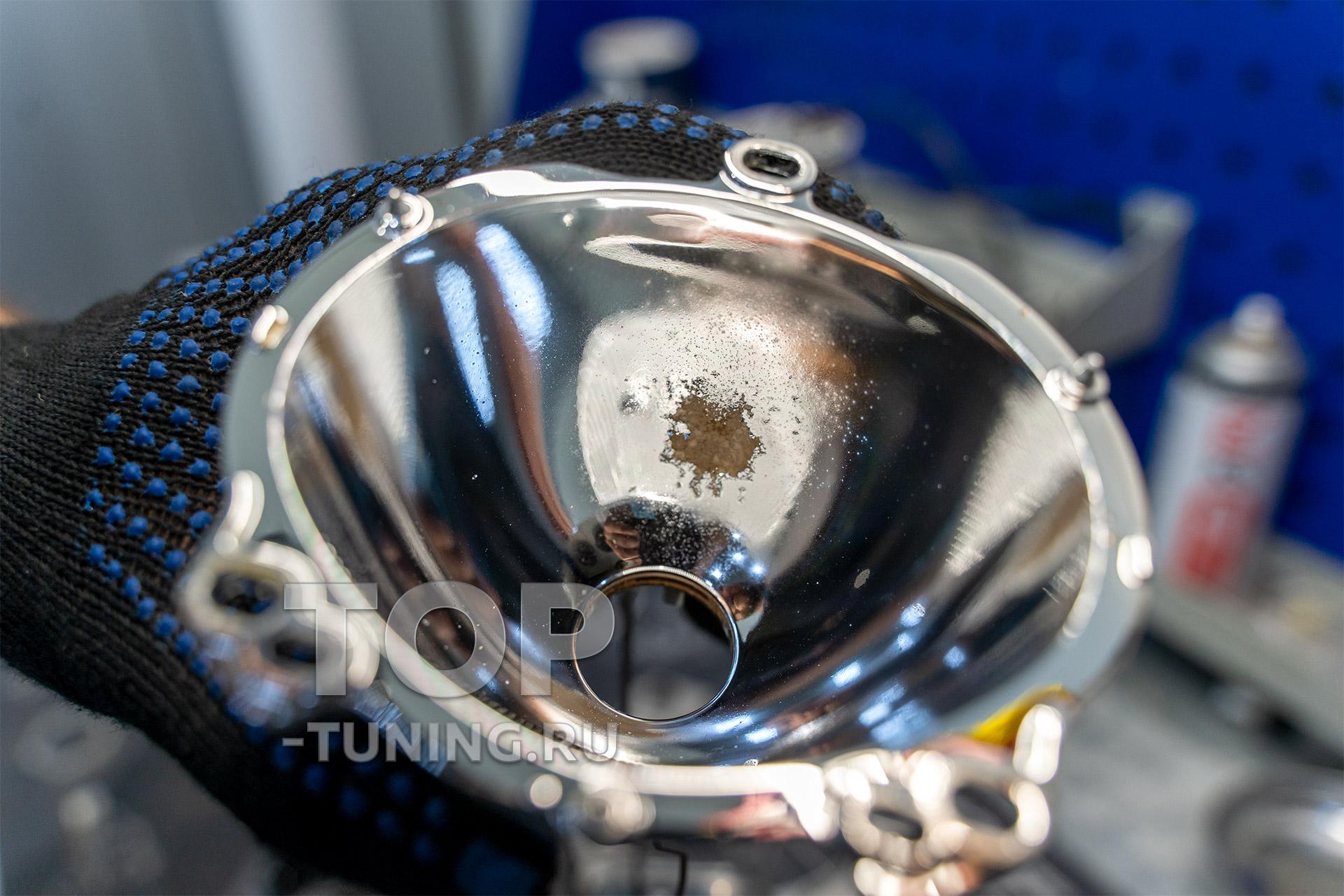 105966 Тесты оптики на базе топовых LED компонентов MTF в Паджеро 4