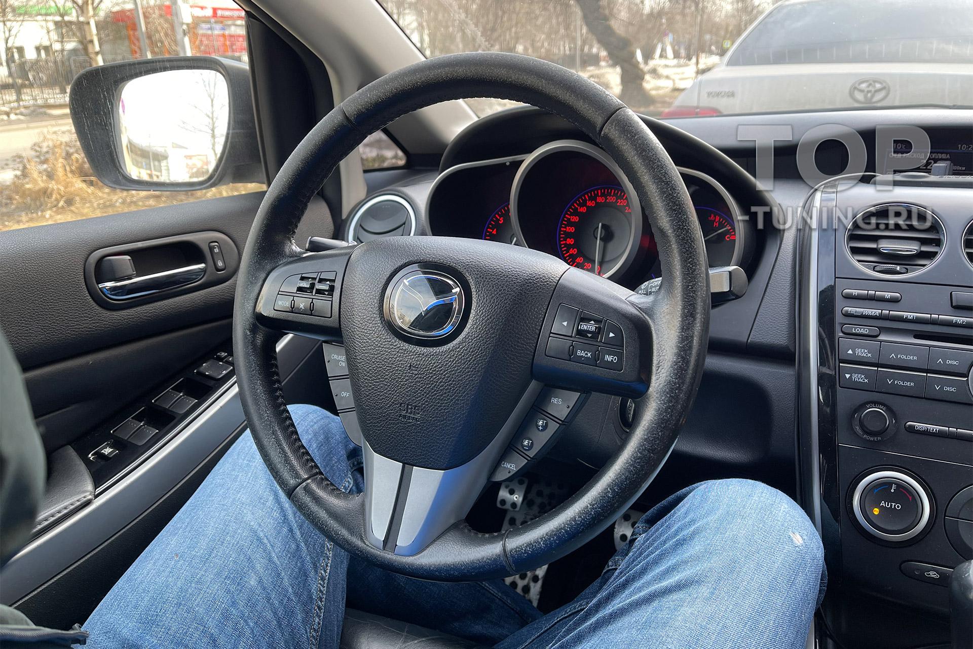 106027 Установка анатомического руля Ego Skill на Mazda CX-7