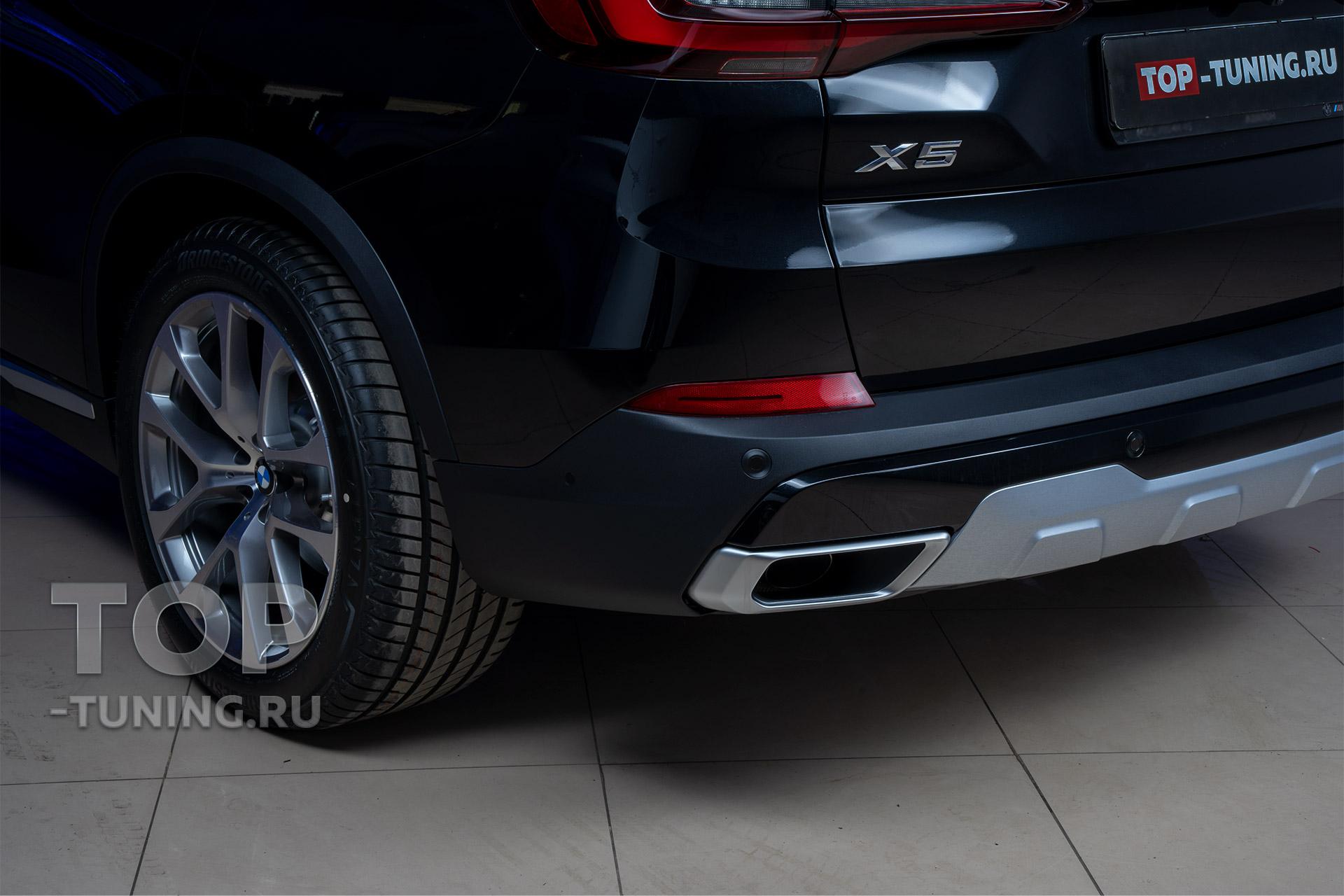 Оклейка пленкой BMW X5 G05 – весь кузов. PPF STEK Dyno Shield