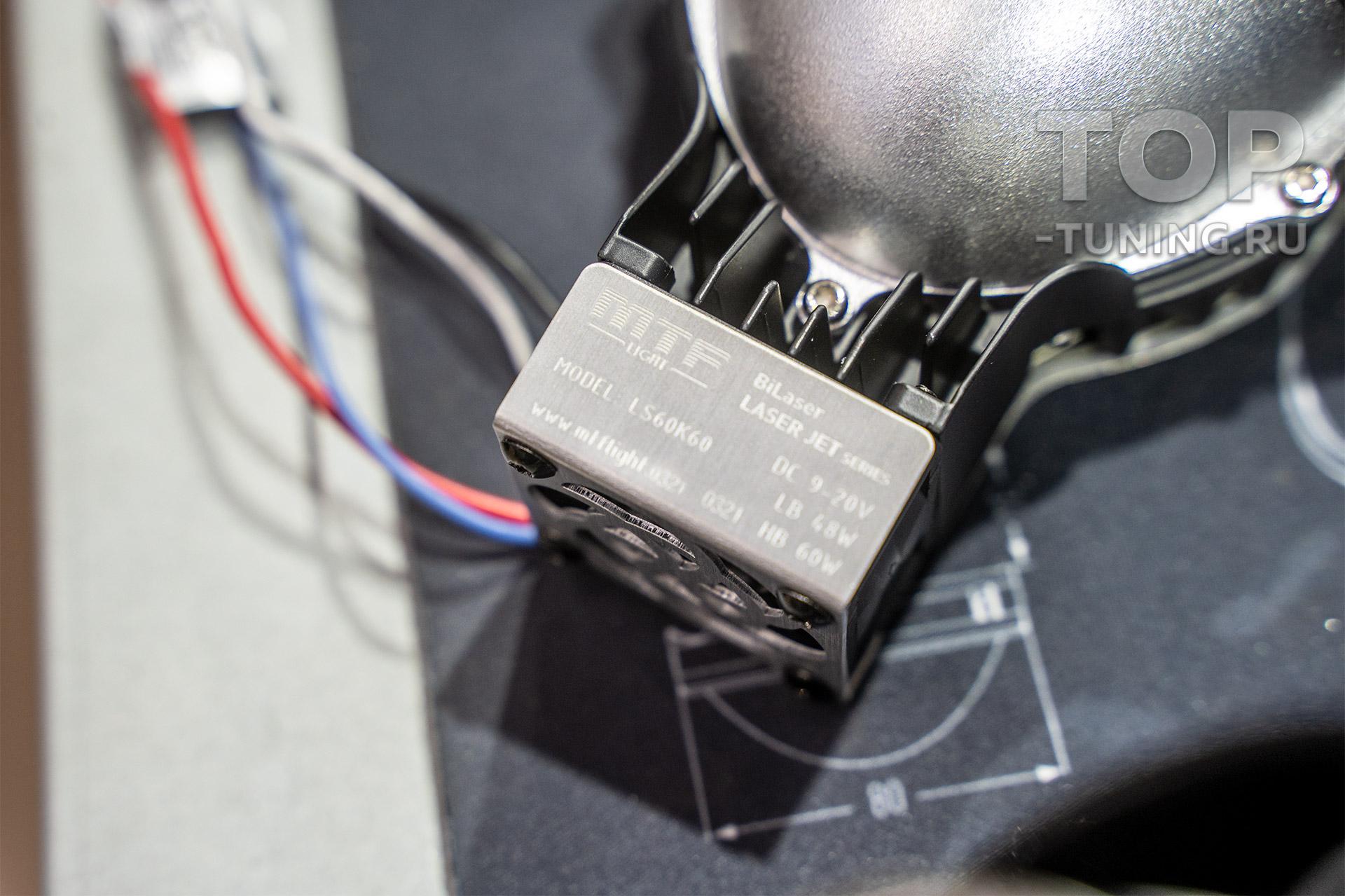 Тюнинг оптики Рендж Ровер 4 – замена линз в штатных фарах