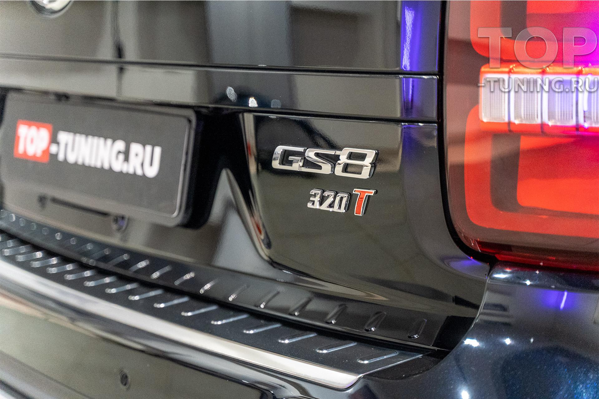 106166 Защита на 10 лет для нового GAC GS8