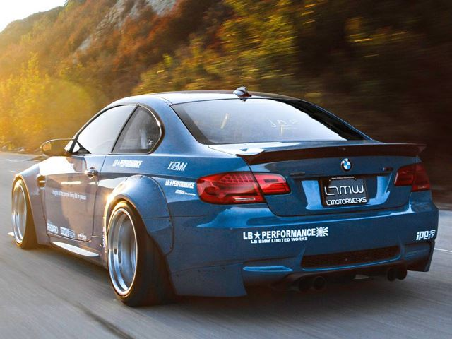 BMW M3 Liberty Walk тюнинг
