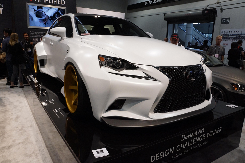 Lexus IS Concept DeviantArt тюнинг