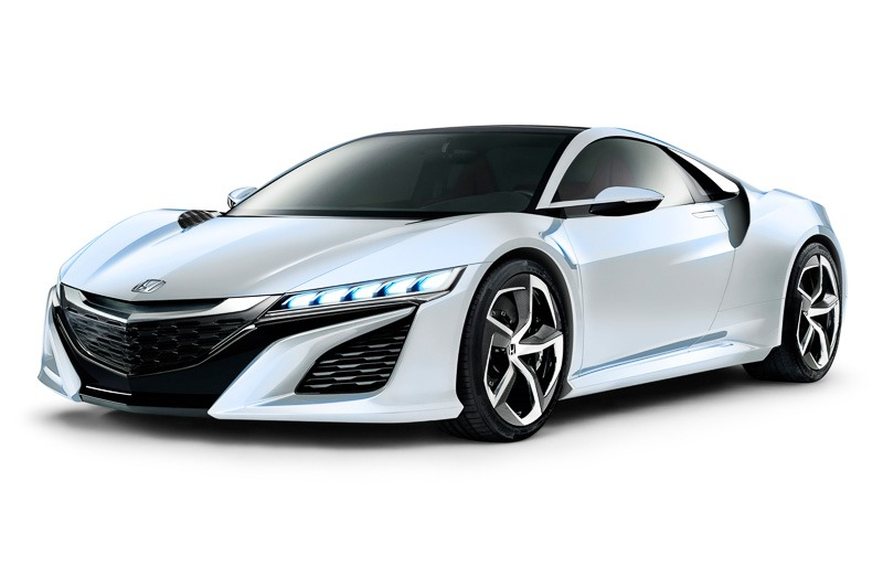 Honda NSX Twin Turbo Hybrid V6