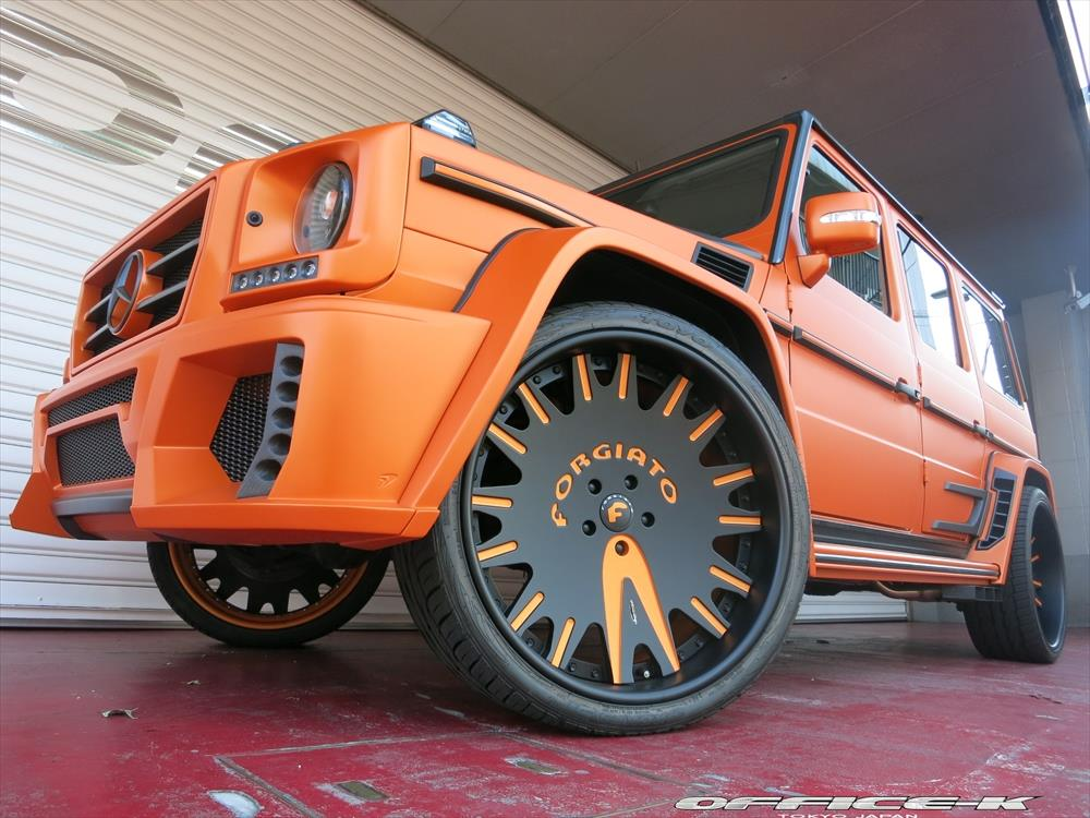 Mercedes Benz G55 AMG Wald Bison Office K Тюнинг
