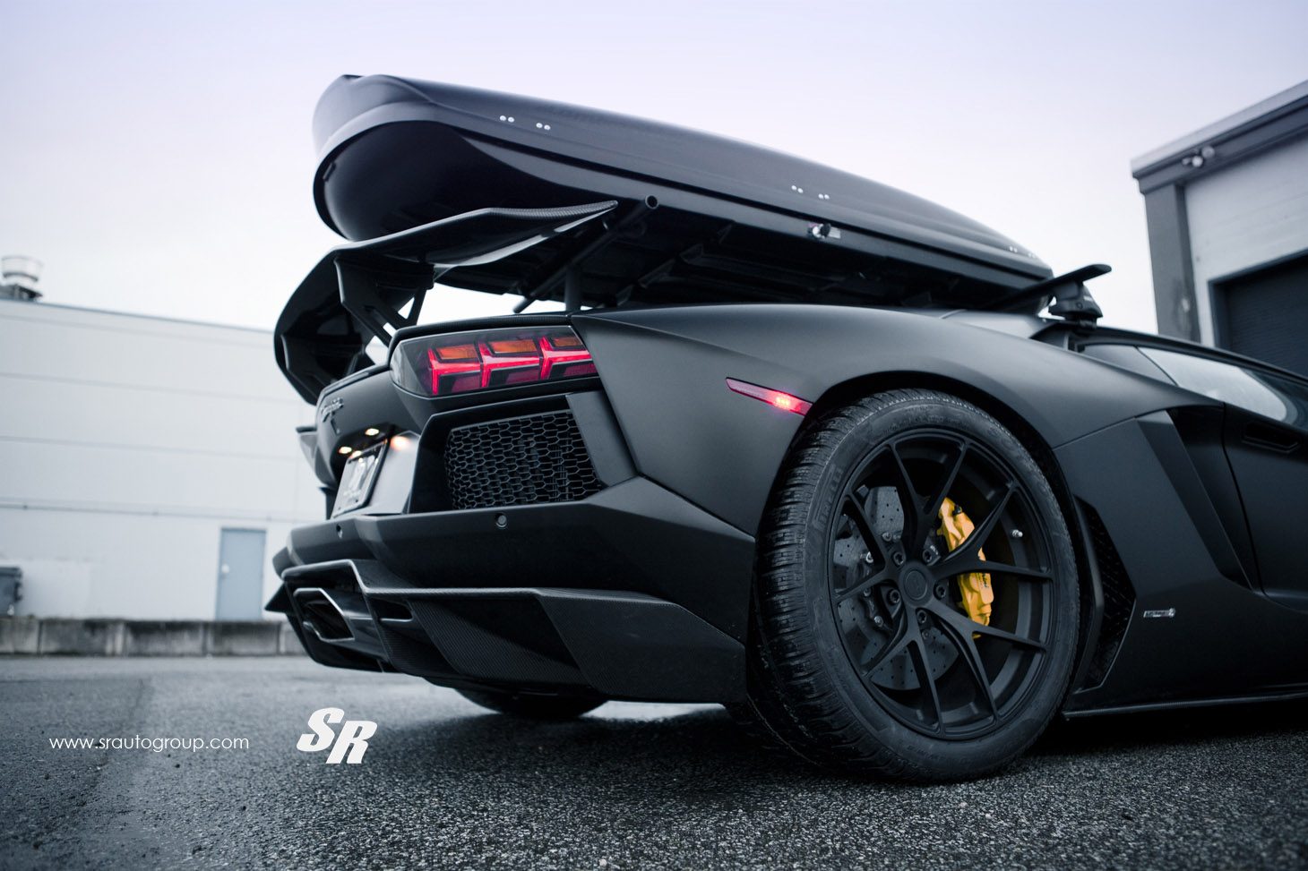 Lamborghini Aventador LP700 Winter Edition SR Auto Тюнинг