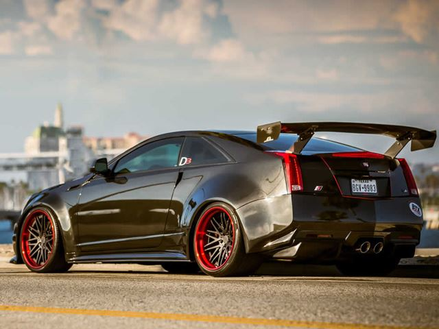 Cadillac CTS V Coupe D3 тюнинг