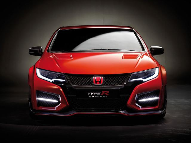 Honda Civic Type R Concept Женева 2014