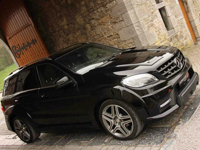 Mercedes ML63 Expression Motorsport Тюнинг