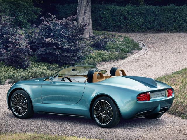 MINI представил Superleggera Vision Concept Roadster