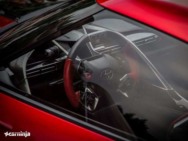 Toyota FT-1 на Cars and Coffee Irvine