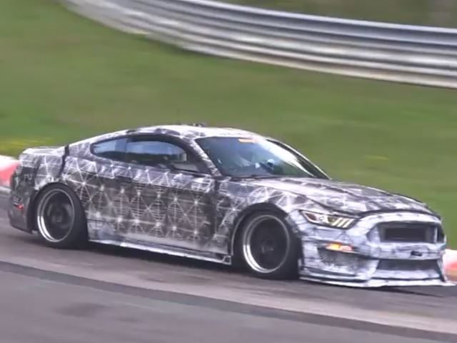 Ford Mustang 2015 рендер