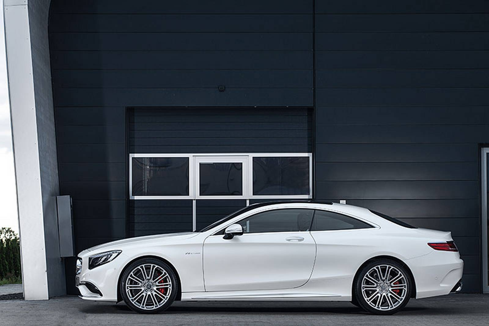 Mercedes S63 AMG Coupe IMSA Тюнинг