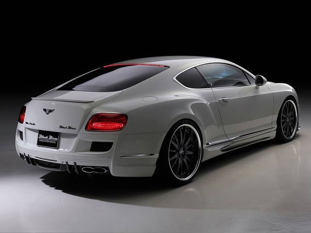Bentley Continental GT Spotrs Line Black Bison Edition Wald International Тюнинг