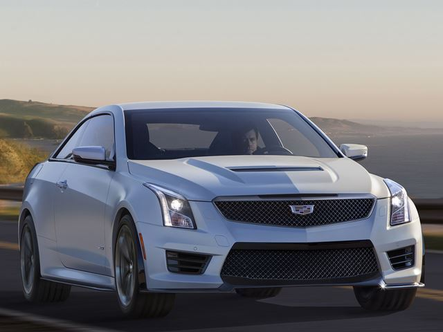 Cadillac CTS-V Coupe рендер