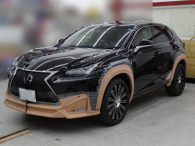 Lexus NX Crossover Black Bison Wald International Тюнинг