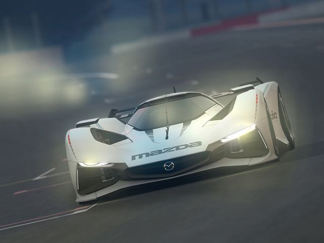 Mazda представила LM55 Vision GT Concept