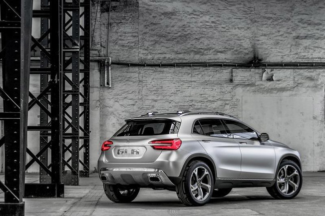 КОНЦЕПТ MERCEDES BENZ GLA