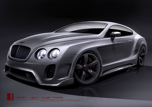 Bentley Continental GT Vilner Tuning