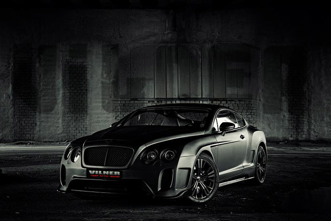 Bentley Continental GT Vilner тюнинг