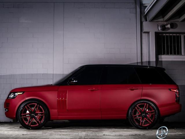 Range Rover Ultimate Auto тюнинг