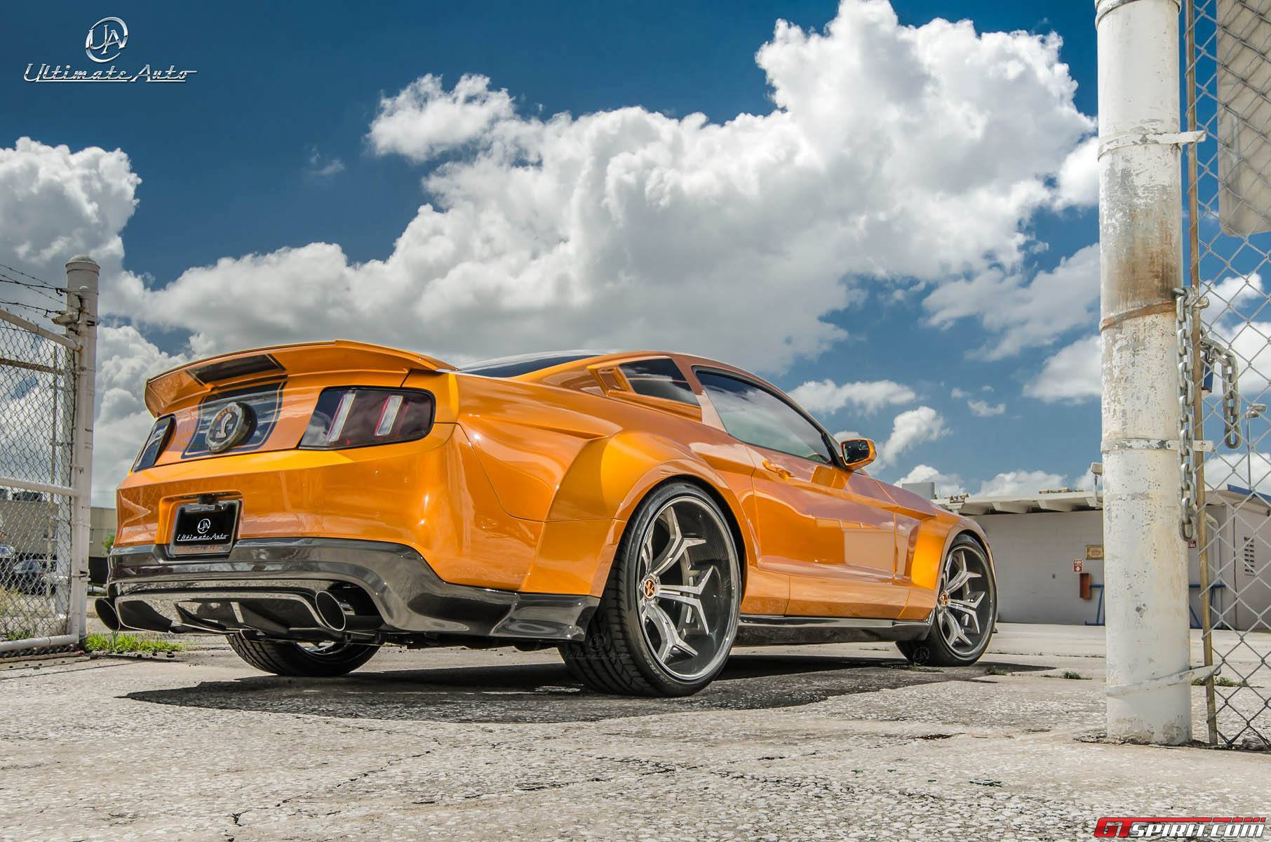 Ford Mustang Shelby GT500 Ultimate Auto тюнинг. Карбон