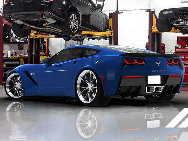 Тюнинг Chevrolet Corvette Stingray от Redline Motorsport