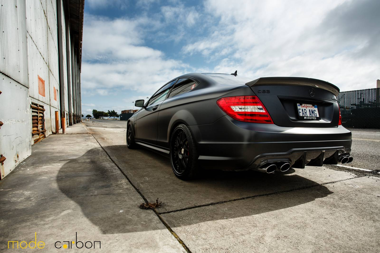 Mercedes-Benz C63 AMG Coupe тюнинг