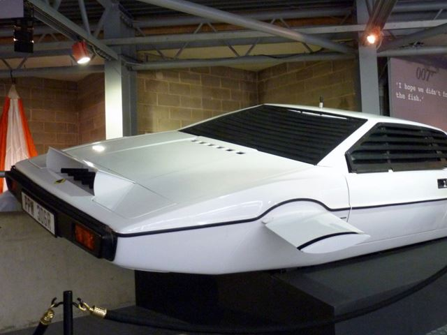 Lotus Espirit Агента 007 Джеймса Бонда