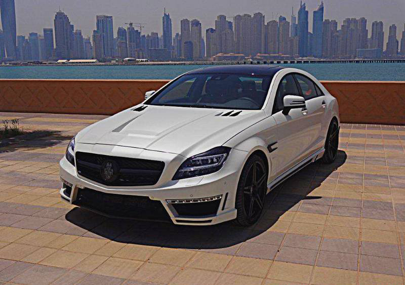 Mercedes CLS500 GSC Spectrum Car тюнинг