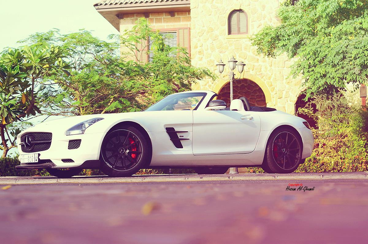 Тюнинг Mercedes-Benz SLS AMG Roadster