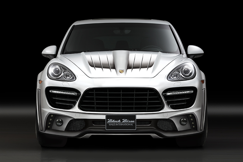 Porsche Cayenne Black Bison Edition от тюнинг-ателье Wald International