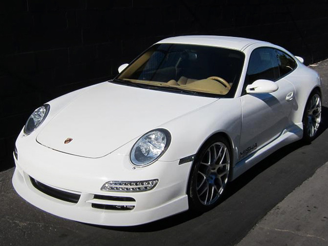 Porsche 911 от тюнинг-ателье Misha Designs