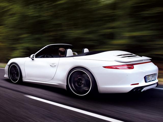 Porsche 911 Carrera 4S от тюнинг-ателье TechArt