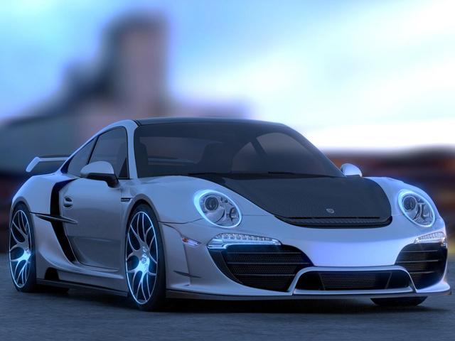 Porsche 911 Attack от Anibal Automotive