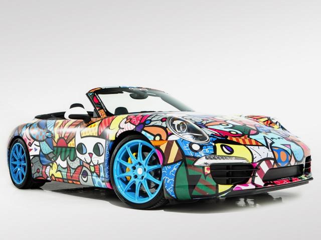Porsche 911 от Ромеро Бритто