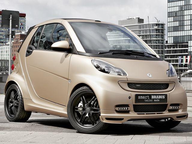 AMG поработает с автомобилями Smart