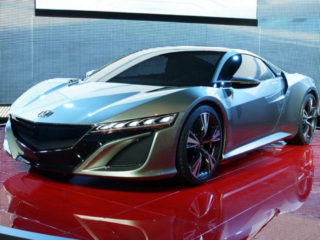 Цена новой Acura NSX будет выше GT-R