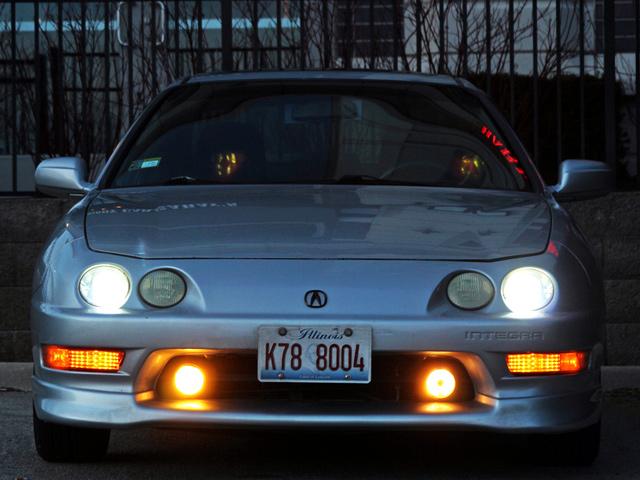 Японские иконы тюнинга: Acura Integra