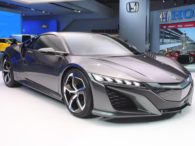 Acura NSX Concept открывает свои двери