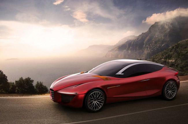 Alfa Romeo Gloria IED Concept будет представлен в Женеве