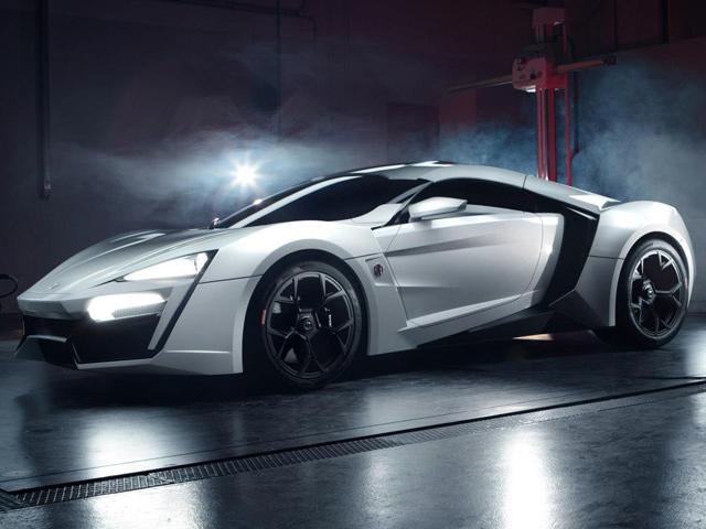Арабский W Motors получил 100 заказов на Lykan Hypersport