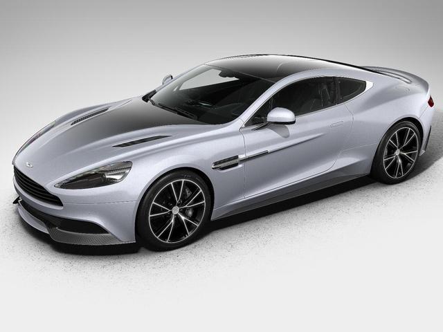 Aston Martin представил Centenary  Vanquish Edition