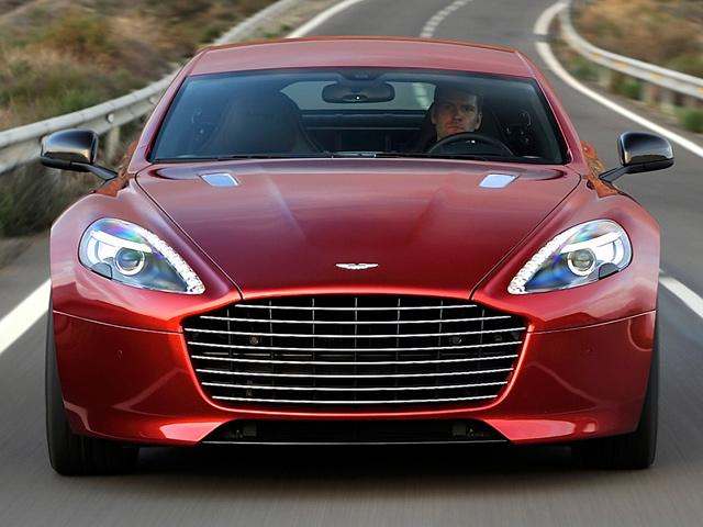 Обновленный Aston Martin Rapide S 2014