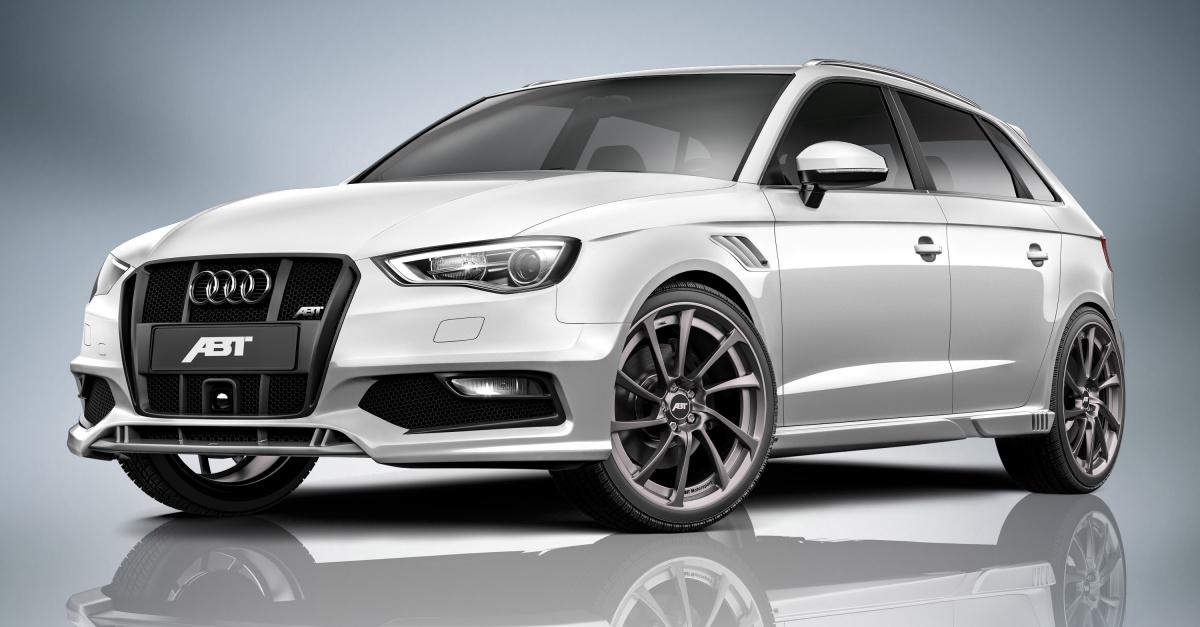 Audi AS3 Sportback от тюнинг-ателье ABT Sportsline